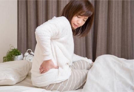 ギックリ腰・寝違いなど急性症状